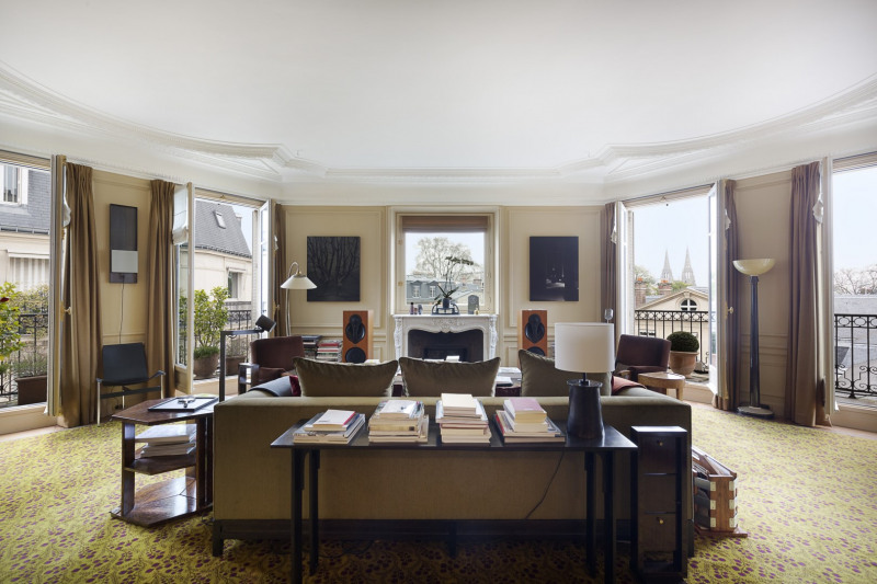 Vente de prestige appartement Paris 7ème 5850000€ - Photo 2