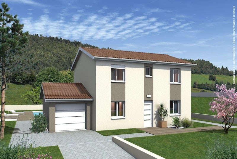 Maison  6 pièces + Terrain 1350 m² Rochegude par MAISONS PUNCH