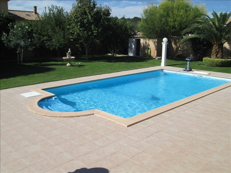 Deluxe sale house / villa Poussan 583000€ - Picture 4