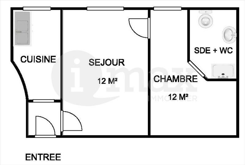 Sale apartment Asnieres sur seine 185 000€ - Picture 4