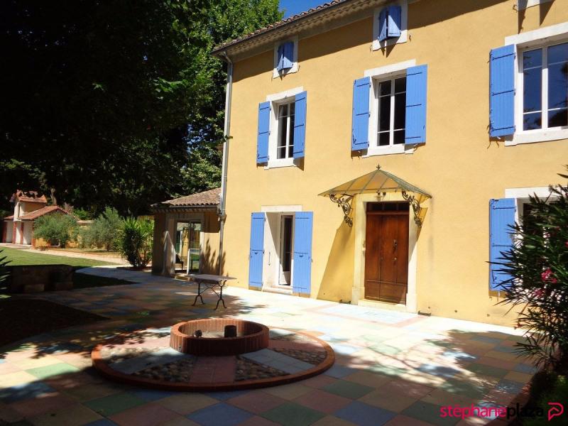 Vente de prestige maison / villa Entraigues sur la sorgue 870000€ - Photo 18