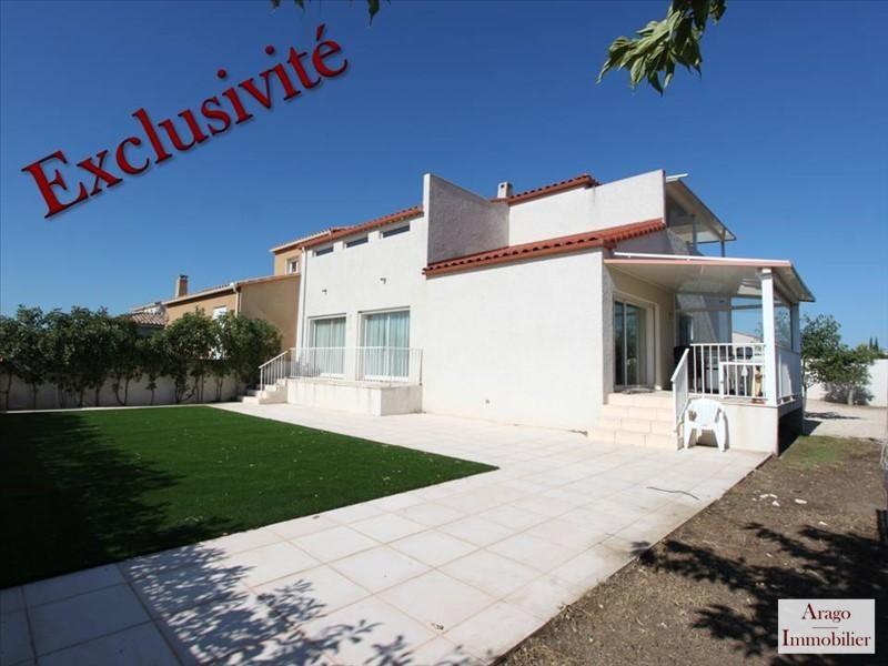 Vente maison / villa Rivesaltes 419000€ - Photo 1