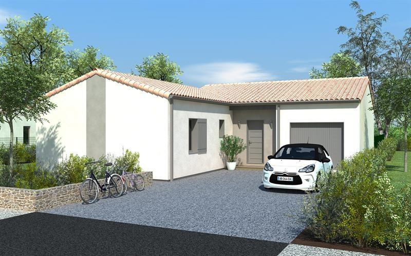 Maison  5 pièces + Terrain 397 m² Niort par DELRIEU CONSTRUCTION