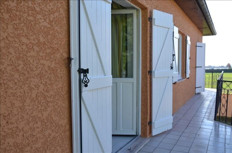 Vente maison / villa Diemoz 312000€ - Photo 10