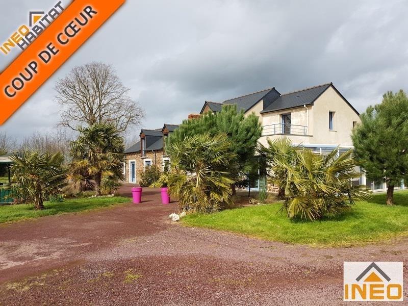 Vente de prestige maison / villa St meen le grand 397100€ - Photo 1