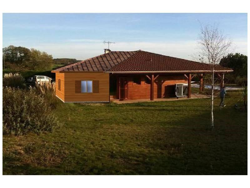 """Modèle de maison  """"Extension en bois avec COGEBOIS"""" à partir de 1 pièces Haute-Garonne par COGEBOIS"""