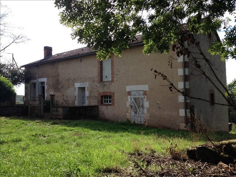 Vente maison / villa Lathus st remy 143300€ - Photo 1