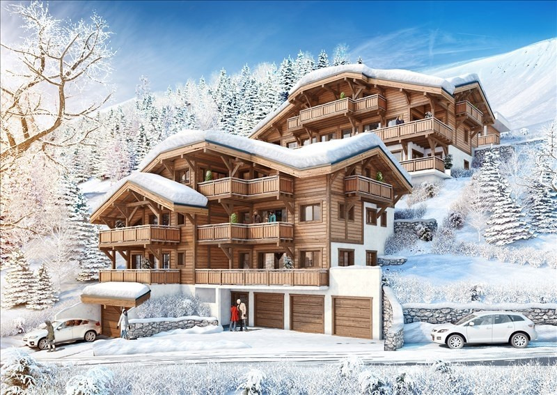 Vente de prestige appartement Morzine 628 000€ - Photo 1