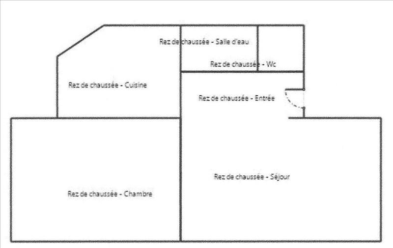Alquiler  apartamento Paris 18ème 850€ CC - Fotografía 2