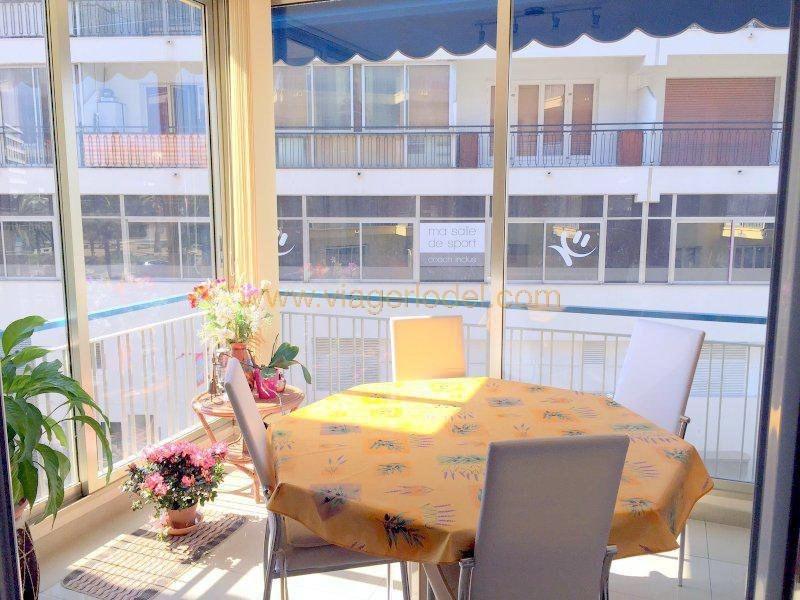 Vendita nell' vitalizio di vita appartamento Cagnes-sur-mer 63000€ - Fotografia 2
