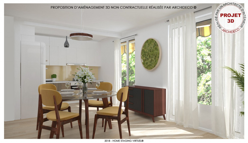 Vente appartement Morieres les avignon 119 000€ - Photo 3