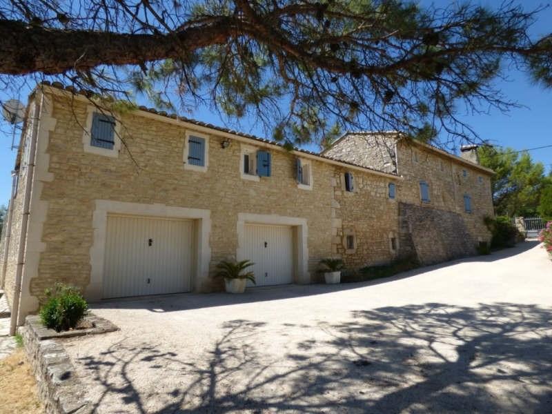 Immobile residenziali di prestigio casa Goudargues 579000€ - Fotografia 14
