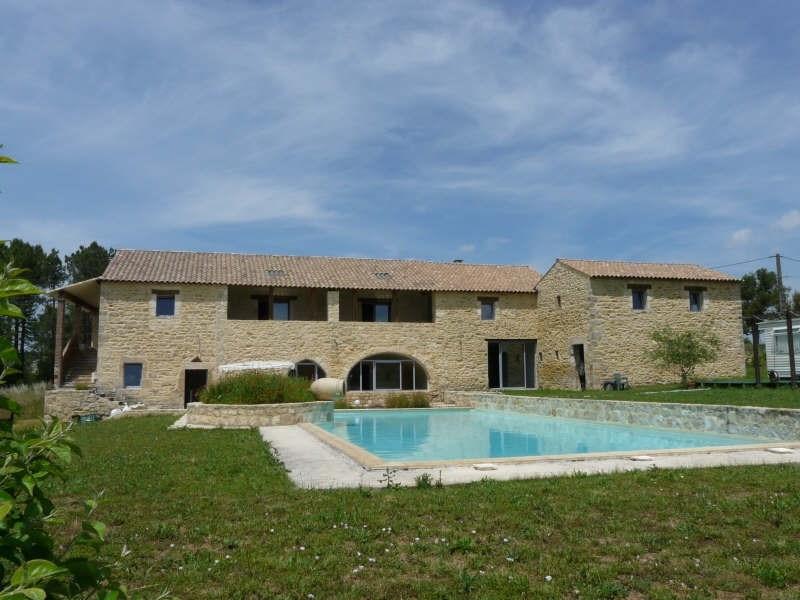 Vente de prestige maison / villa Barjac 695000€ - Photo 1