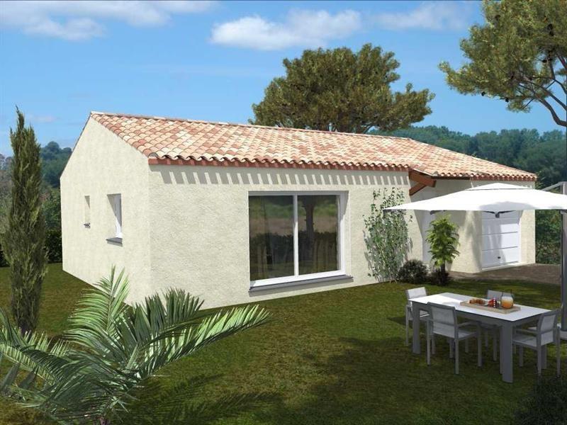 Maison  4 pièces + Terrain 892 m² Quarante par Domitia Construction