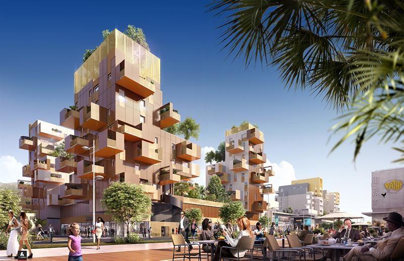 Grand 39 avenue programme immobilier neuf la valette du var for Achat maison la valette du var