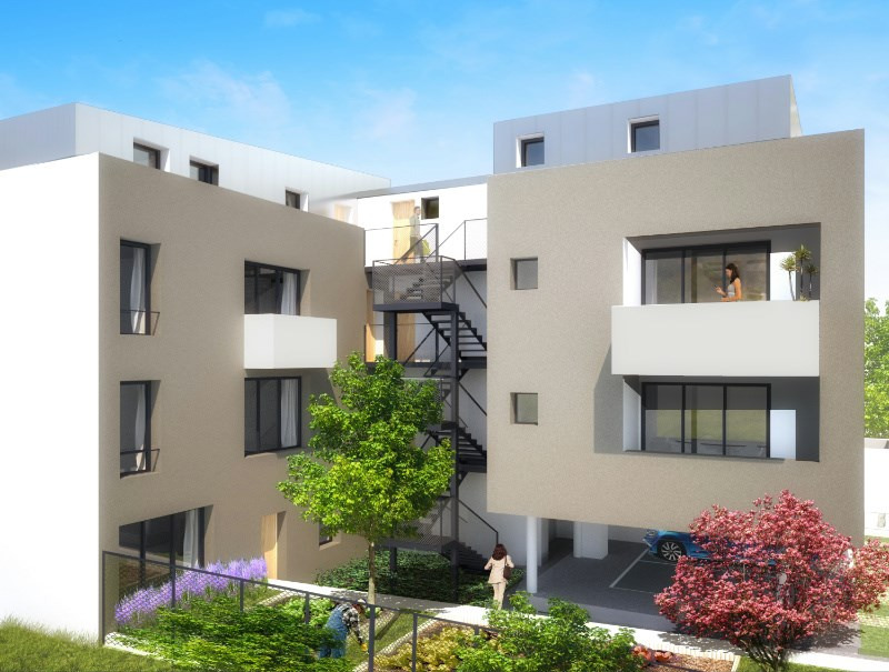 Green grey programme immobilier neuf romainville for Immobilier neuf idf