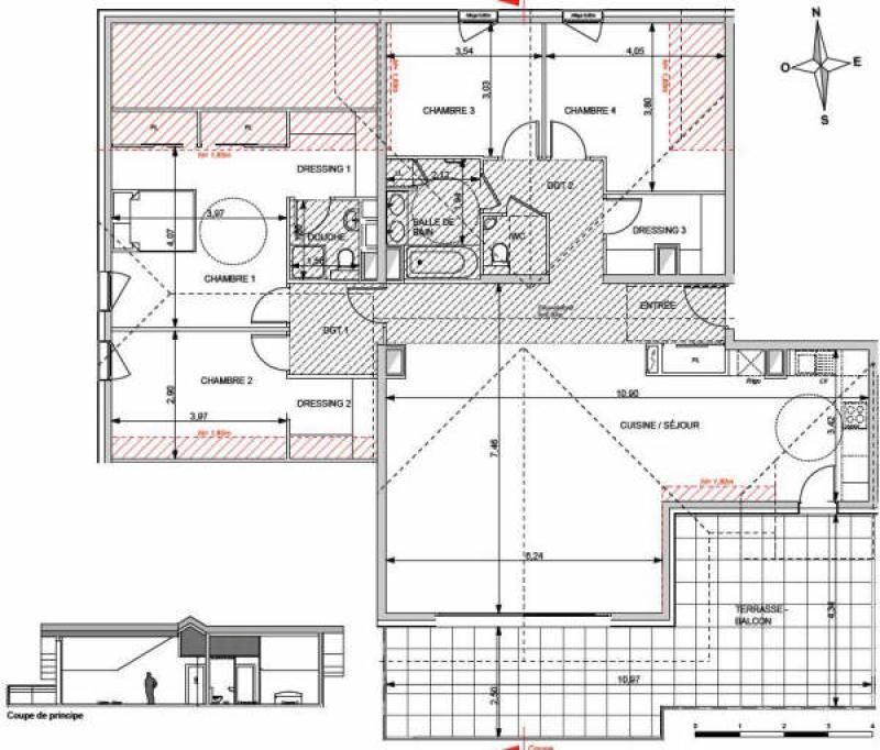 Deluxe sale apartment Annecy le vieux 849000€ - Picture 4
