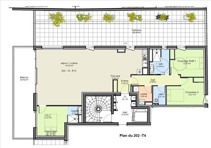 Vente appartement Niort 430500€ - Photo 2