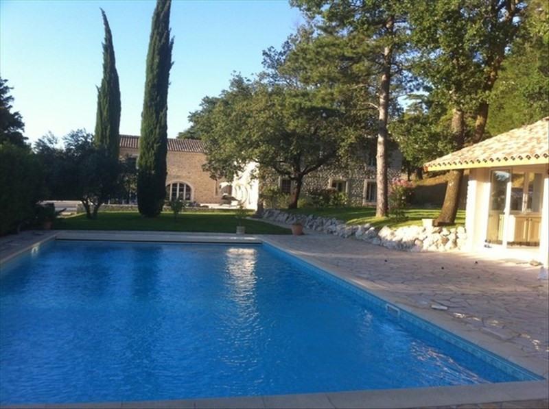 Deluxe sale house / villa L'est de montelimar 1035000€ - Picture 1