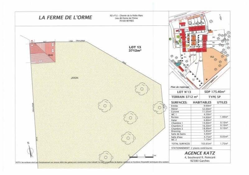 Vente maison / villa Beynes 550000€ - Photo 2