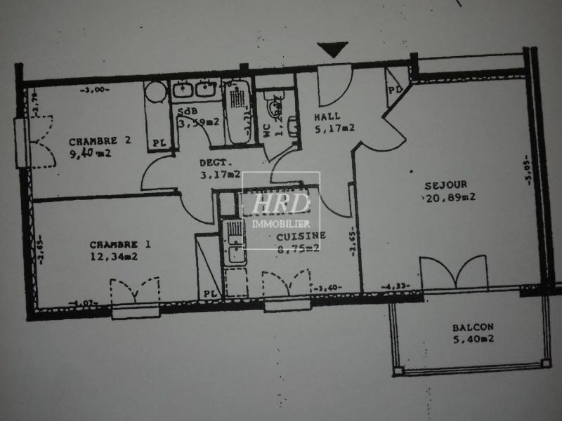 Verkoop  appartement Strasbourg 220500€ - Foto 10