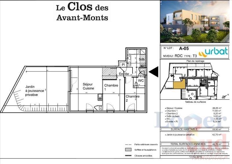 Sale apartment Montpellier 230500€ - Picture 7