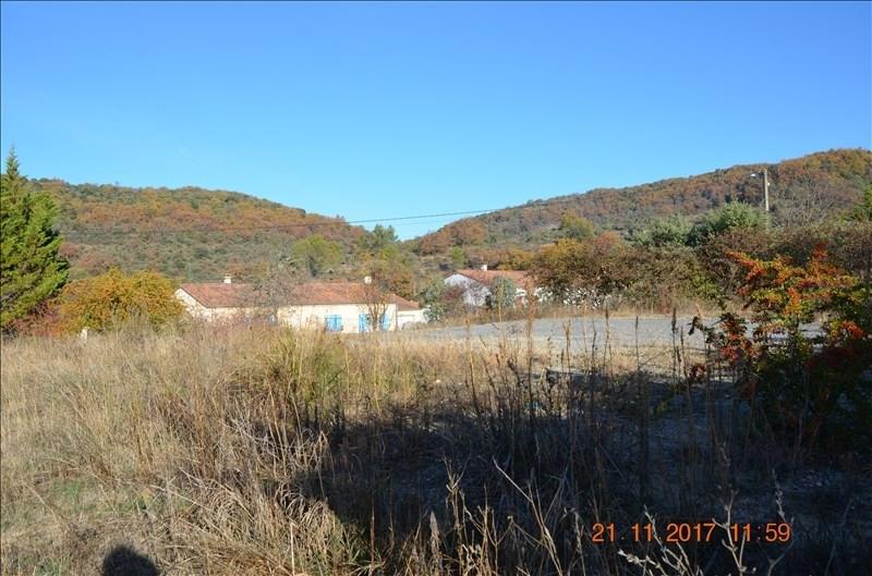 Vente terrain Ruoms 64200€ - Photo 1