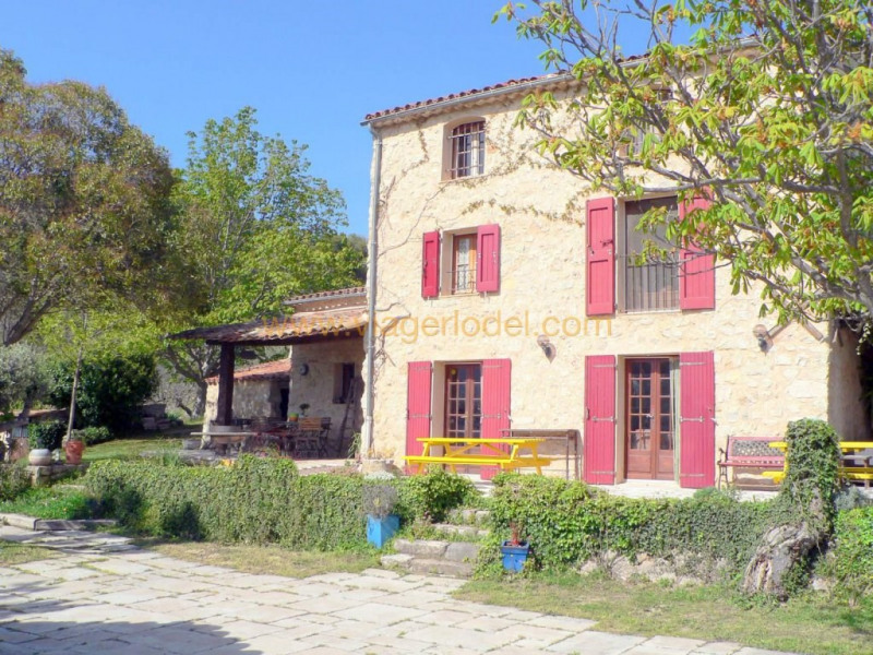 Immobile residenziali di prestigio casa Fayence 892500€ - Fotografia 1