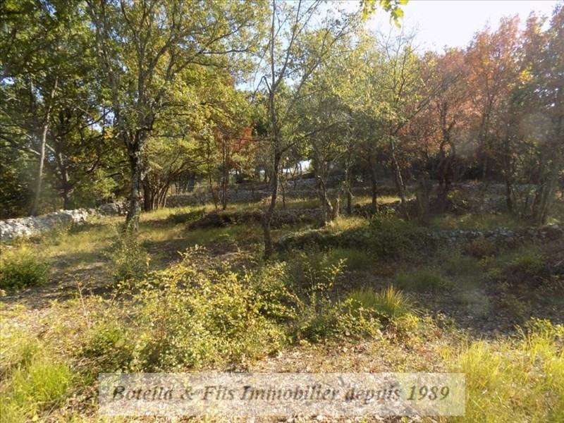 Vendita terreno Barjac 94500€ - Fotografia 2