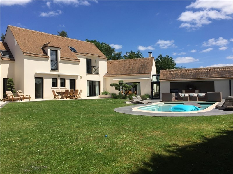 Deluxe sale house / villa Orgeval 1 450 000€ - Picture 1