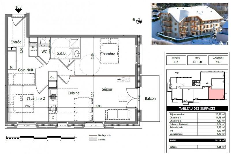 Vente appartement Saint gervais les bains 254000€ - Photo 11