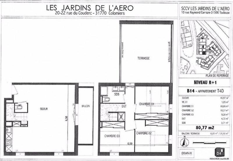 Location appartement Colomiers 900€ CC - Photo 9