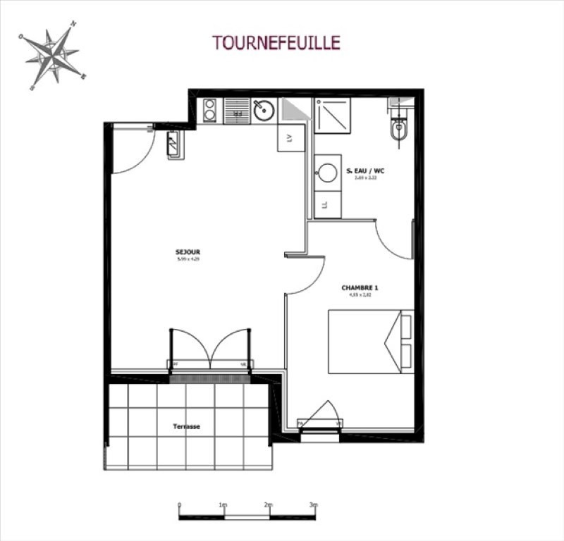 Vente appartement Tournefeuille 159 000€ - Photo 8