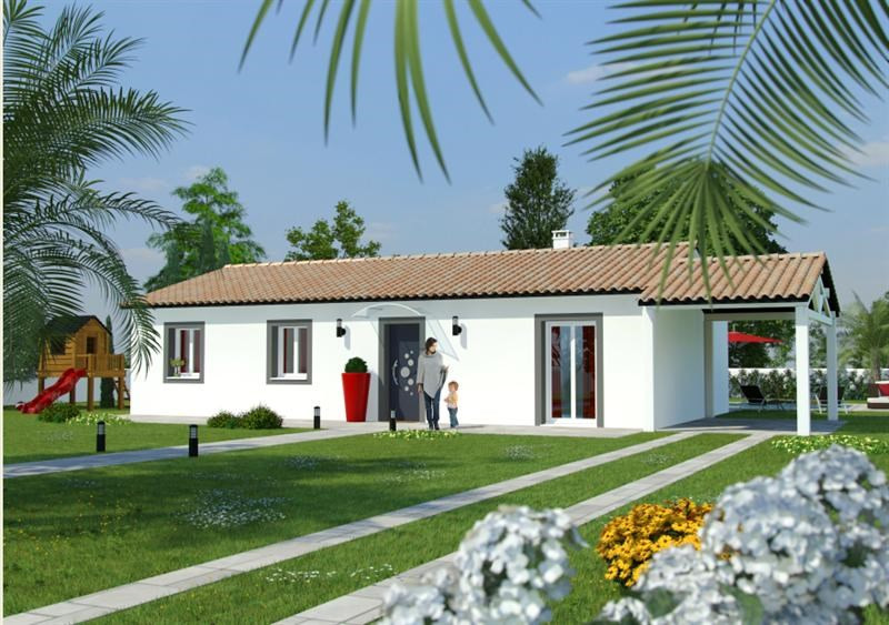 Maison  4 pièces + Terrain 247 m² Saint-Jean-Pla-de-Corts par MAISONS COTE SOLEIL