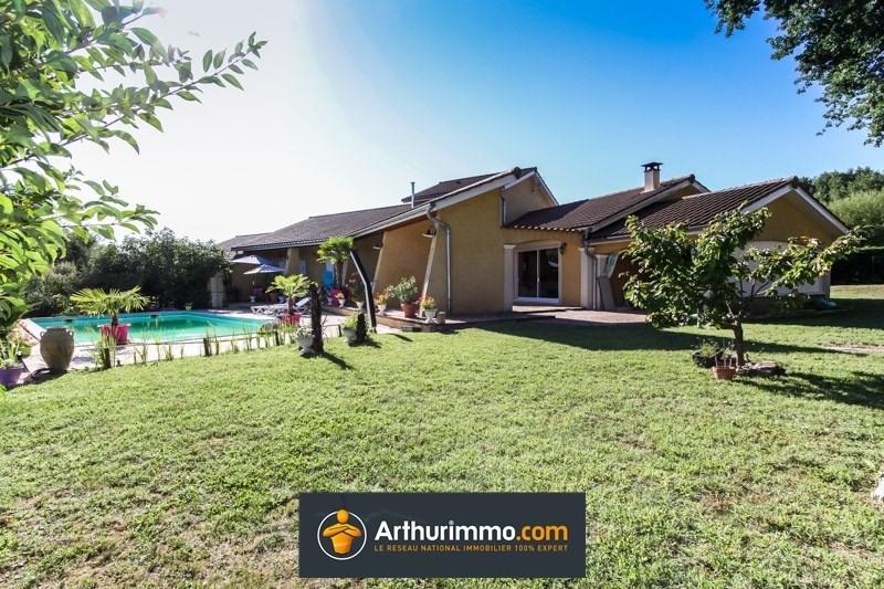 Vente maison / villa Morestel 395000€ - Photo 2