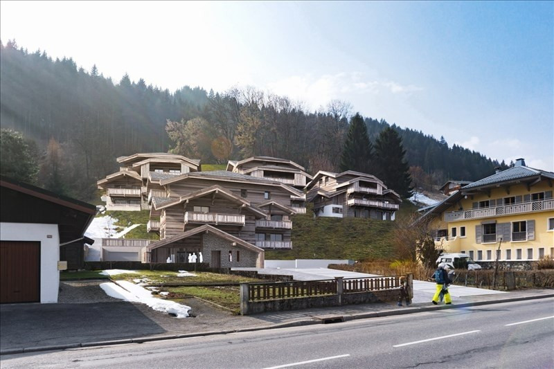 Vente de prestige appartement Morzine 674 500€ - Photo 1