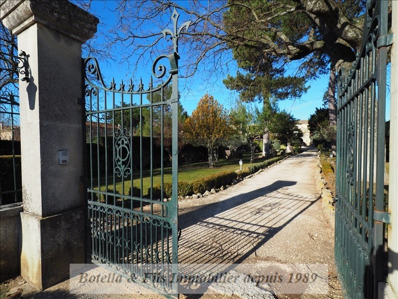 Vente de prestige maison / villa Uzes 830000€ - Photo 3