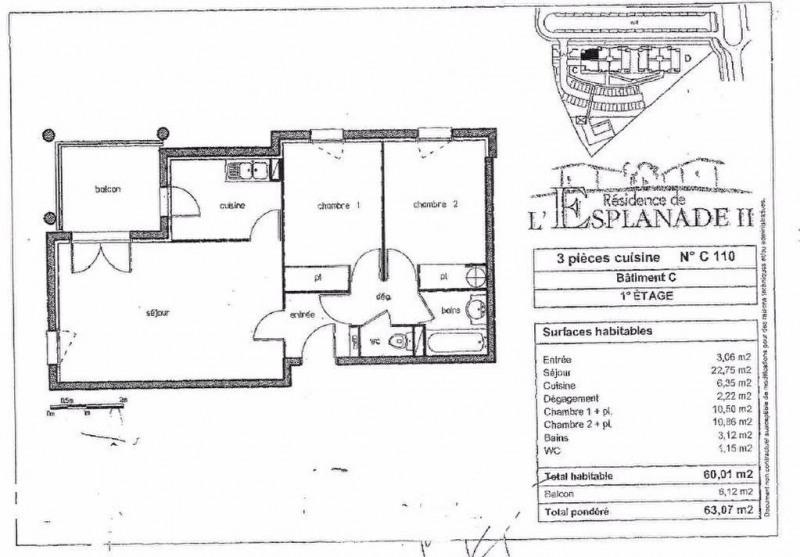 Location appartement Colomiers 680€ CC - Photo 1