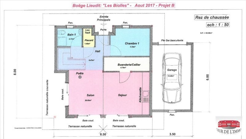 Sale house / villa Boege 448300€ - Picture 3