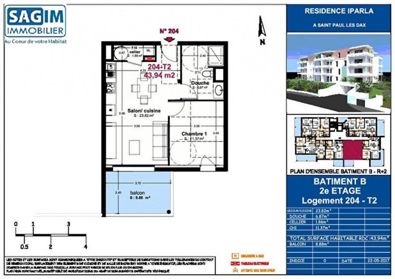 Vente appartement St paul les dax 128500€ - Photo 2