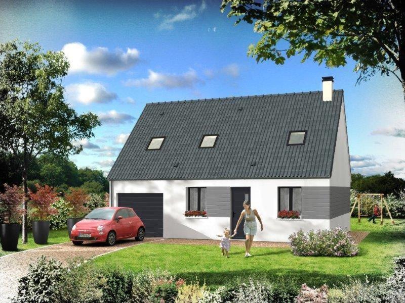 Maison  5 pièces + Terrain 1000 m² Bosnormand par RESIDENCES INTER ROUEN