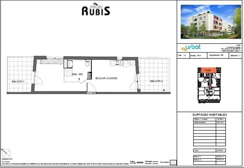 Vente appartement Montpellier 367000€ - Photo 3