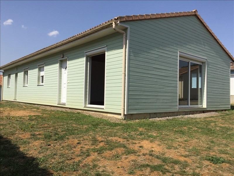 Vente maison / villa Liguge 128000€ - Photo 1