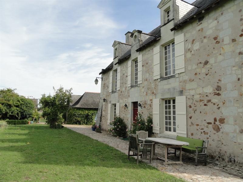 Deluxe sale house / villa Angers 30 mn sud est 615000€ - Picture 2