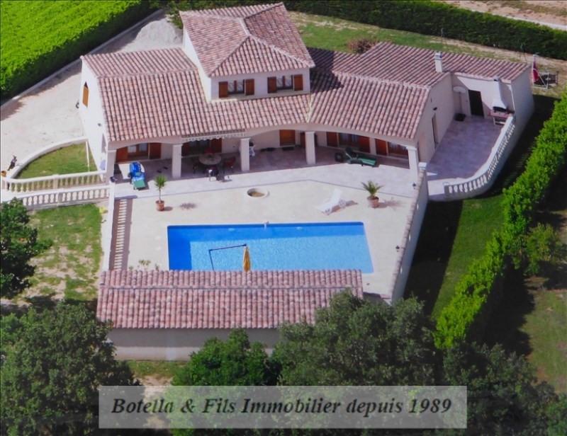 Vente maison / villa Goudargues 349000€ - Photo 1