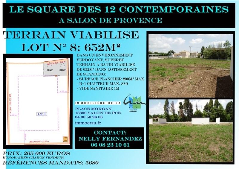 Verkoop  stukken grond Salon de provence 205000€ - Foto 1