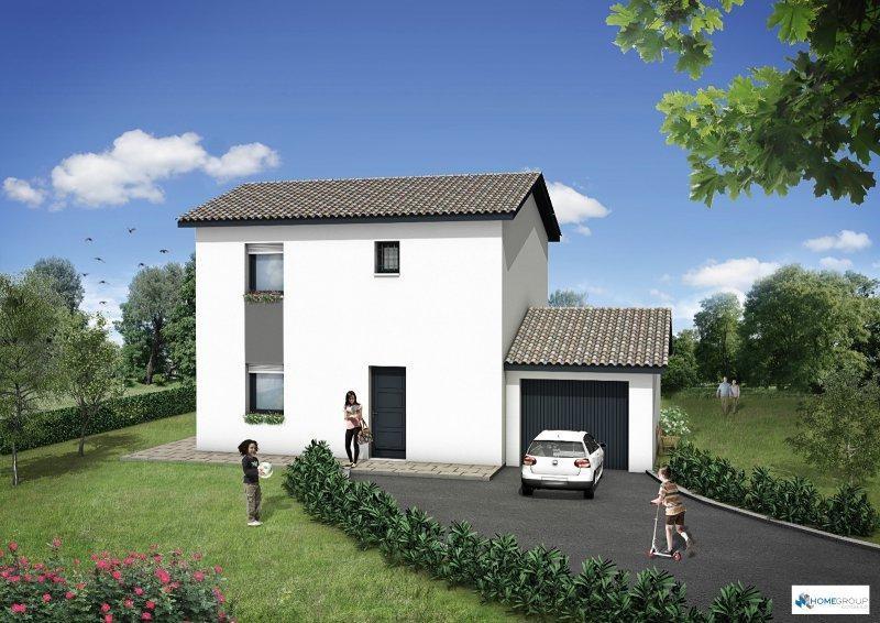 Maison  4 pièces + Terrain 250 m² Le Pin par HOME GROUP CONSEILS