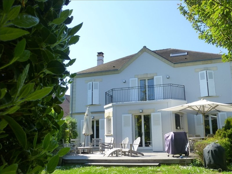 Revenda residencial de prestígio casa Villennes sur seine 995000€ - Fotografia 2
