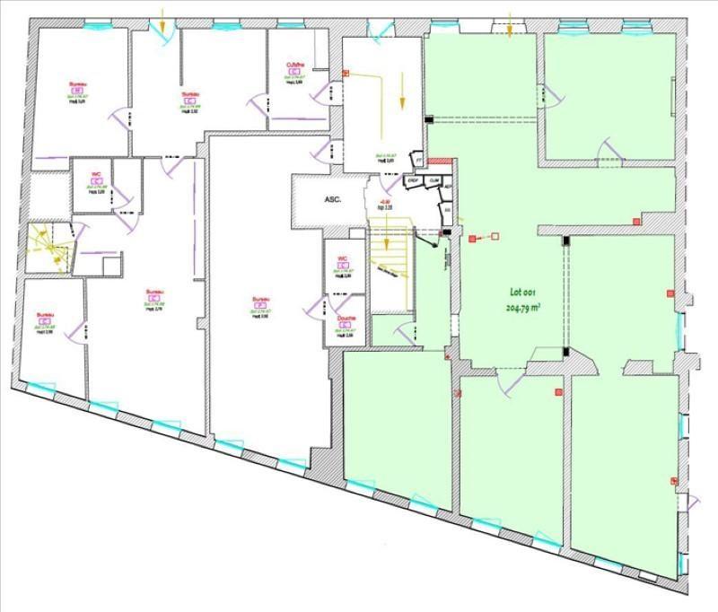 Revenda escritório Albi 221200€ - Fotografia 1