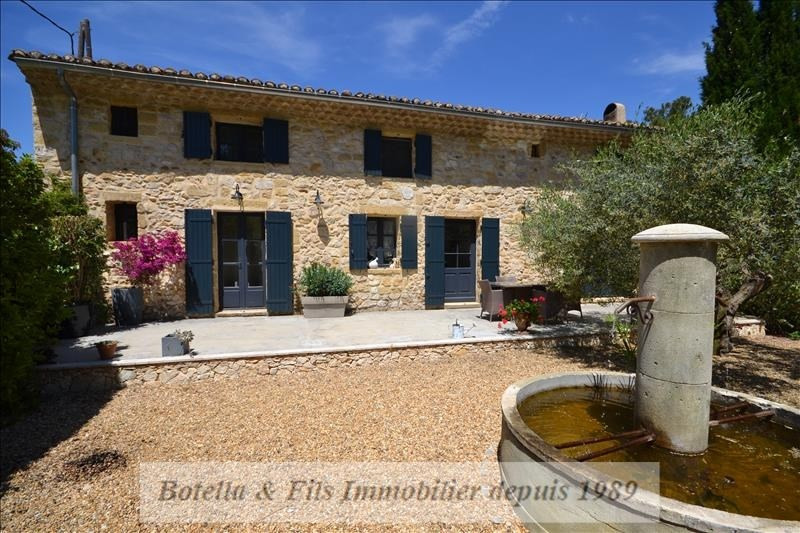 Deluxe sale house / villa Tavel 647 000€ - Picture 1
